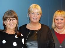 Christine Gustafsson Med dr. och forsknings-projektledare.  Lena-Karin Gustafsson  HV dr.  Ingrid Snellman  Teologie dr.  Alla tre forskare verksamma vid Akademin för hälsa, vård och välfärd på Mälardalens högskola.