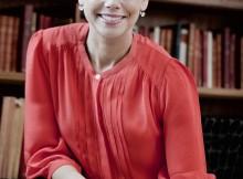 Foto: Elis Hoffman Sofia Larsen, informationschef på Örebro universitet och ordförande i Akademiker- förbundet Jusek, hade en lärare i mellanstadiet som betytt mycket för hennes självkänsla.