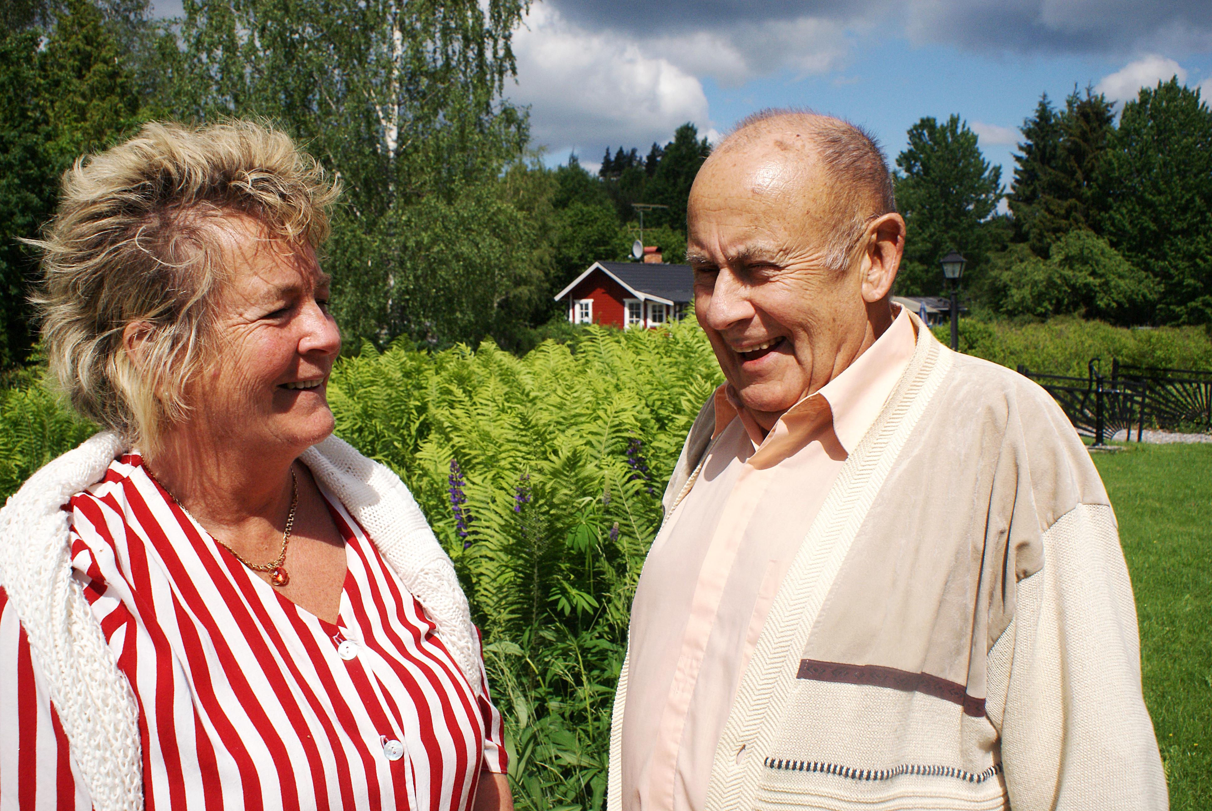 Foto: Catherina Ronsten Bosse och Agneta gifte sig och dem visste att det var rätt. De båda har gått igenom förluster och sorg och kärleken som spirade mellan dem två räddade dem båda.